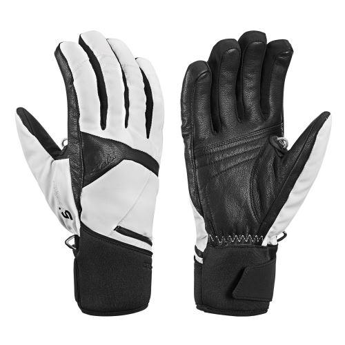 Rękawiczki LEKI Equip S GTX Lady czarno-białe 6.0