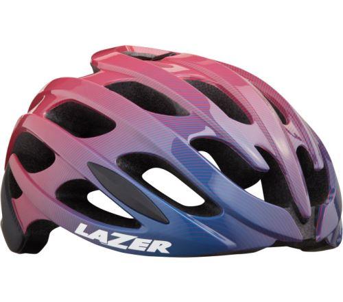 LAZER přilba Blade+ CE-CPSC/ fialovo růžová STRIPES S