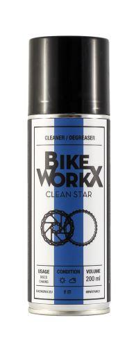 BIKEWORKX czyszczenia Spray 200 ml Czyste STAR