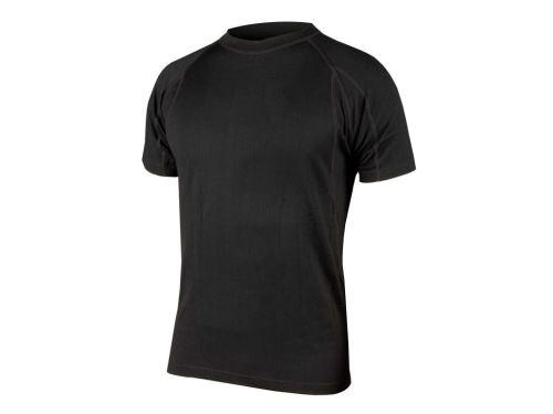 Endura BaaBaa Merino spodní vrstva - krátký rukáv černá