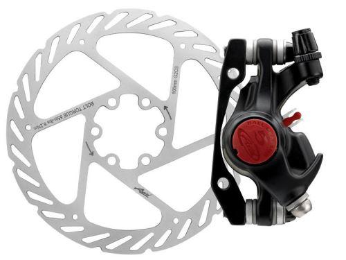 Mechanická kotoučová brzda AVID BB5 MTB černá 160mm G2CS kotouč , přední/zadní