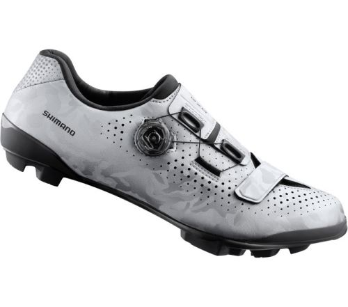 SHIMANO gravel obuv SH-RX800MS, stříbrná