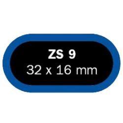 Klejenie - łatka owalna Ferdus ZS9 - 32x16mm