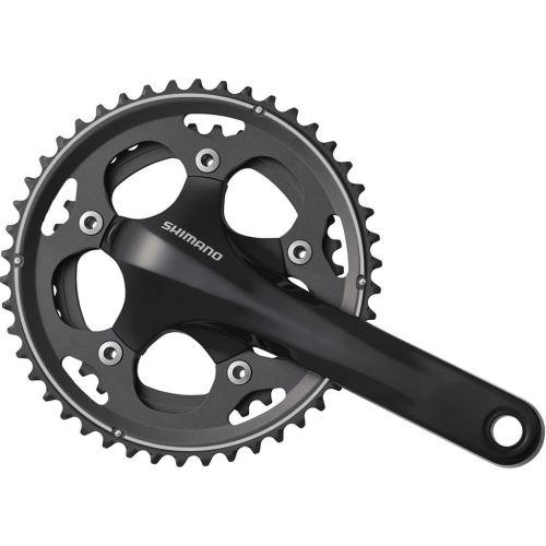 Kliky silniční-cyklokros Shimano FC-CX50 46x36 - černé