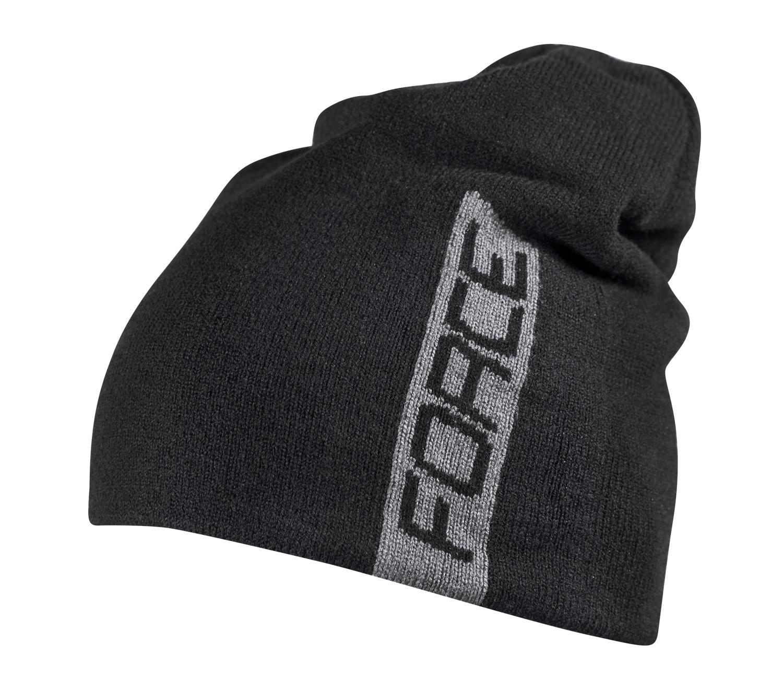 e849159e68c čepice zimní FORCE ELF pletená černá