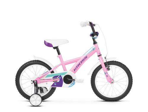 Rower dla dzieci Kross Mini 3.0 2020, RÓŻOWY / FIOLETOWY / TURKUSOWY