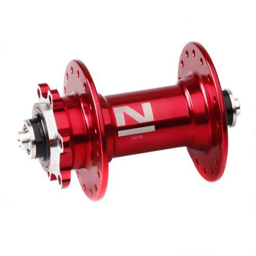 Náboj Novatec D041SB, přední, 32-d, červený (N-logo)