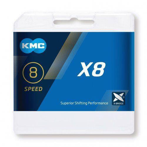 CHAIN KMC X-8.99 BOX STYLE BLACK
