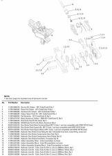 Brzdové destičky AVID Code, Guide RE organické/Fe, model 2011+, 1 set