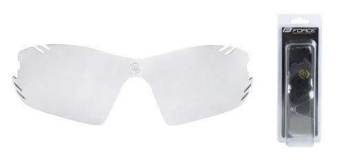 FORCE sklo náhradní RACE PRO , fotochromatické, šedé