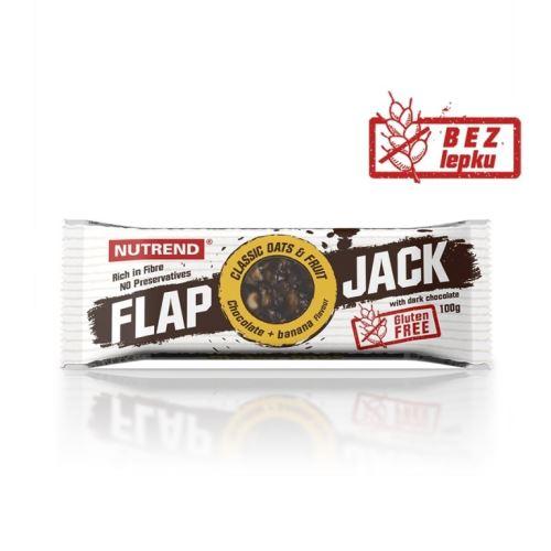 Stick Nutrend FLAPJACK GLUTEN FREE - Różne smaki