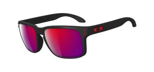 Brýle OAKLEY Holbrook Matte Black / Red Iridium skla