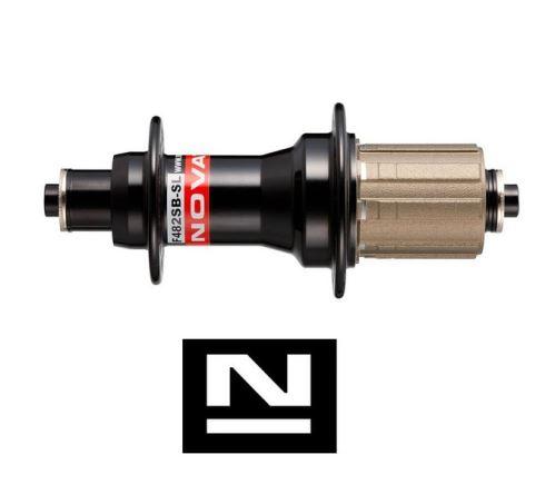 Náboj Novatec F482SB, zadní, 24-d, černý