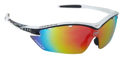 Okulary FORCE RON białe, szklane multilaser