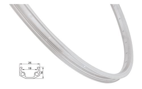 ráfek Remerx 406/36/21 RMX19 stříbrný,GBS, AV