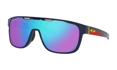 Brýle Oakley CrossRange Shield Snapback Navy / PRIZM Sapphire iridium skla