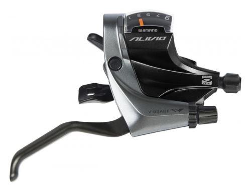 dźwignia zmiany biegów i hamulca Shimano Alivio ST-M4000 9p