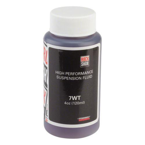 Rock Shox tlumičový olej pro zadní tlumiče, 7wt, 120 ml