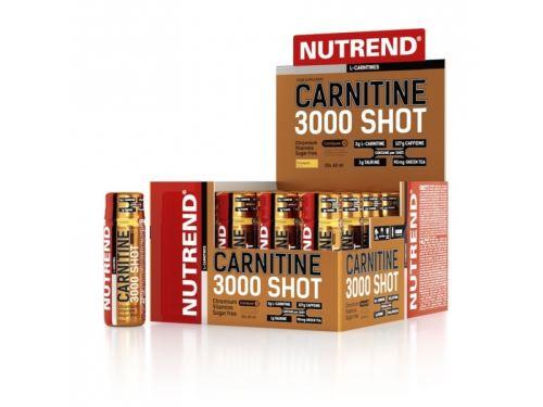 Drink Nutrend Carnitine 3000 Shot 20x60ml - Różne smaki