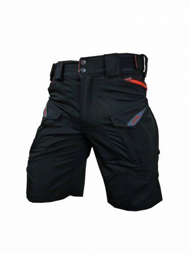 Szorty HAVEN CUBES BLACKIES czarno / czerwone L