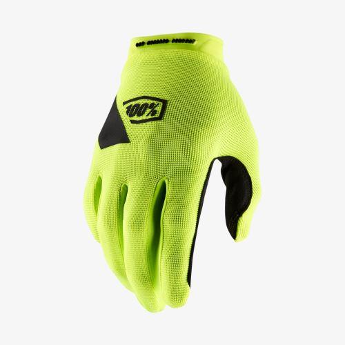 Rukavice 100% RIDECAMP Glove Fluo Yellow