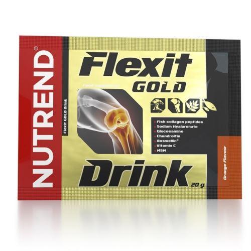 Nutrend Flexit GOLD Drink 10x20g pomarańczowy