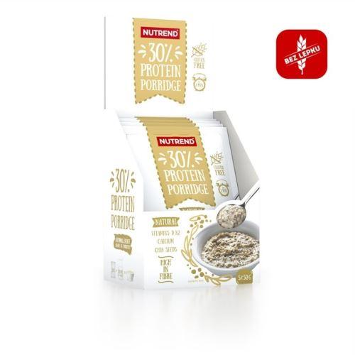 Nutrend Protein Porridge 5x50g naturalnej zawiesiny