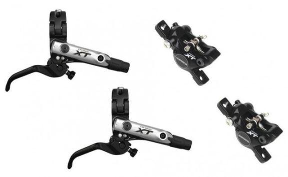 Brzdy Shimano XT BR-M785 černé - zadní - 1550mm