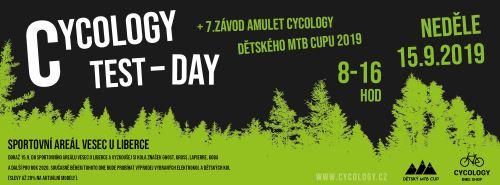 Cycology test day 2019 + 7. závod Amulet Cycology dětského MTB Cupu 2019