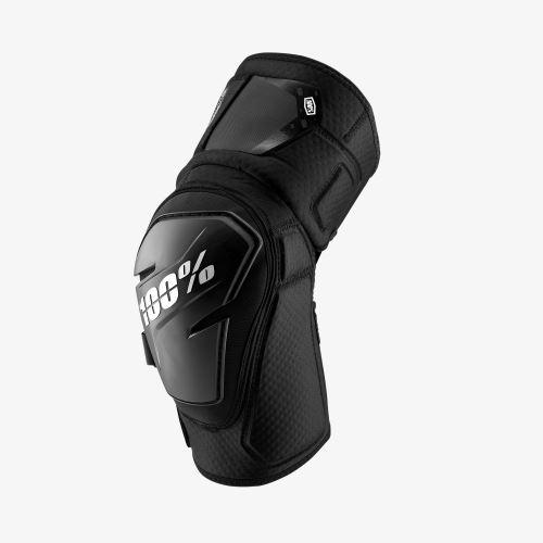 Chránič kolene 100% FORTIS Knee Guard Black