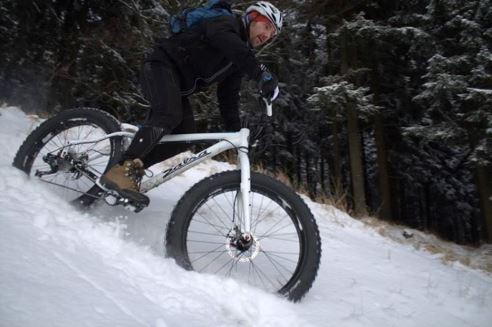 Fatbike - jazda na rowerze zimą