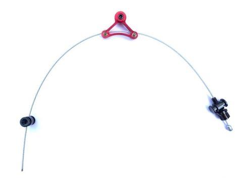 Trojuhelník + lanko pro cantilever brzdy Tektro