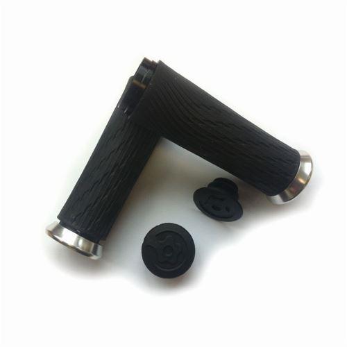 SRAM Locking gripy pro otočné řazení 85mm černé se stříbrnou obj. a zátkami