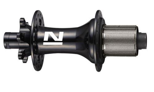 Náboj Novatec DH462SB-SL, zadní, 32-děrový, černý (N-logo)