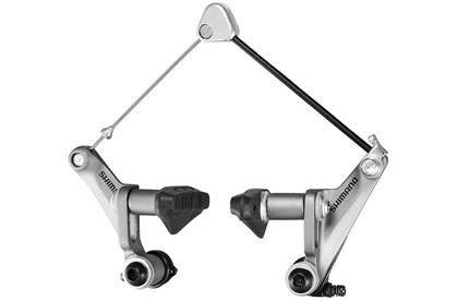Cyklokrosová cantilever brzda Shimano BR-CX50 - stříbrná