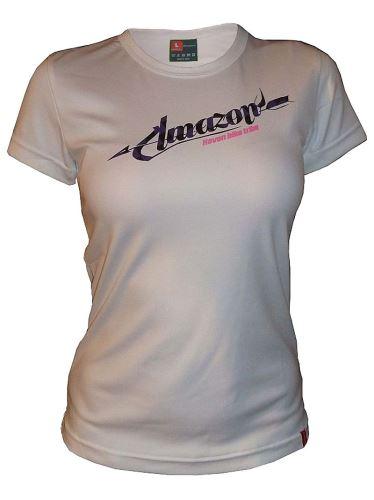 Damska koszulka HAVEN AMAZON biało/fioletowa