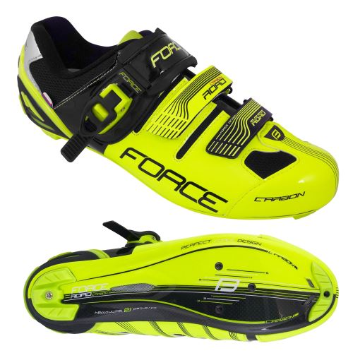 FORCE ROAD CARBON, fluoro-black