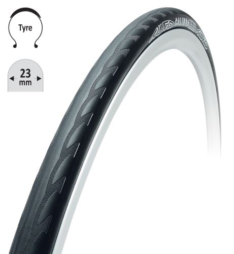 poduszka TUFO Calibra 700 kevlar, czarna