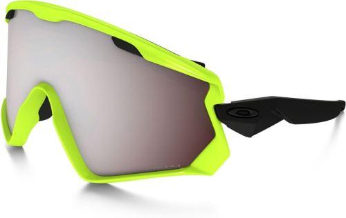 Brýle Oakley Wind Jacket 2.0 Neon Retina / PRIZM Snow black iridium