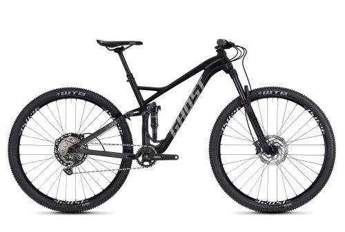Rower z pełnym zawieszeniem GHOST SLAMR 2.9 AL - Jet Black / Urban Grey -2020
