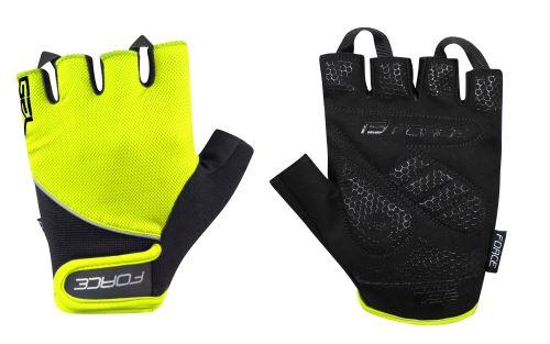 rękawice FORCE GEL, fluoro-black