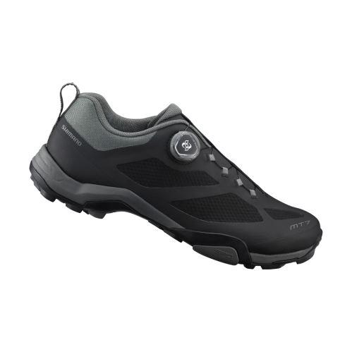 SHIMANO turistická obuv SH-MT700ML, černá