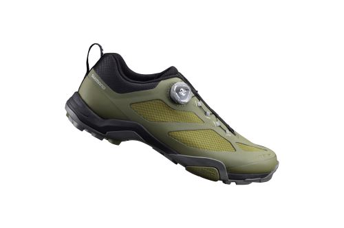 SHIMANO turistická obuv SH-MT700MO, olivová