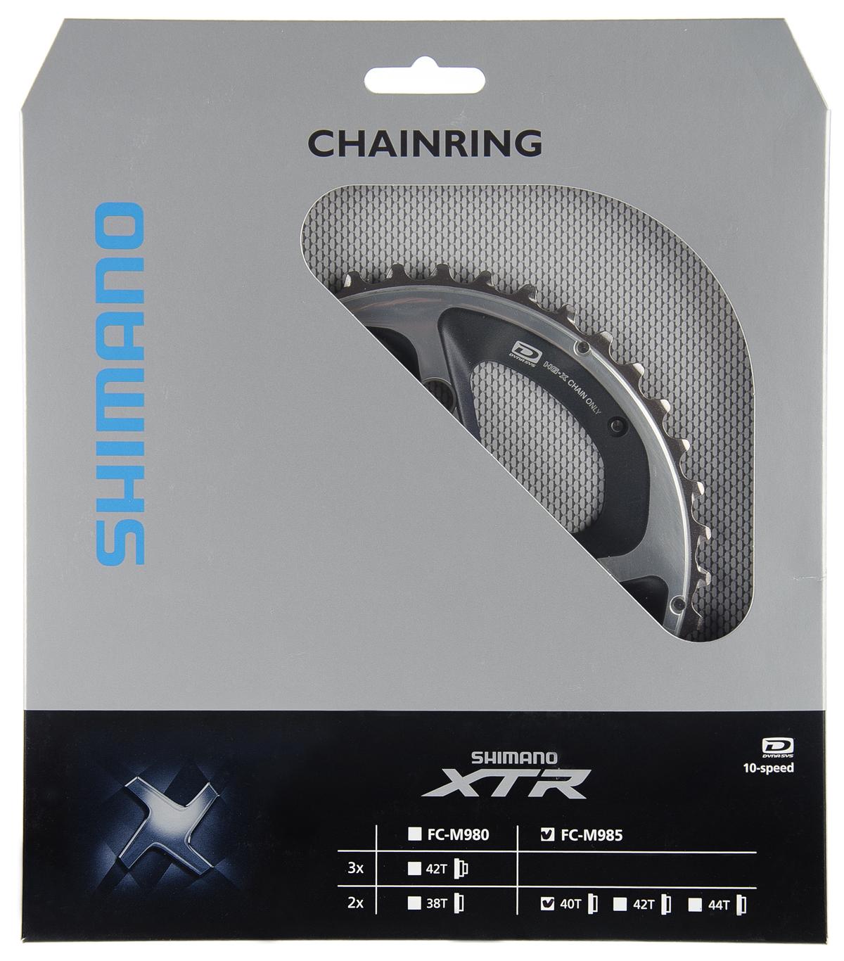 Převodník Shimano XTR FC-M985 - 2x10 40z