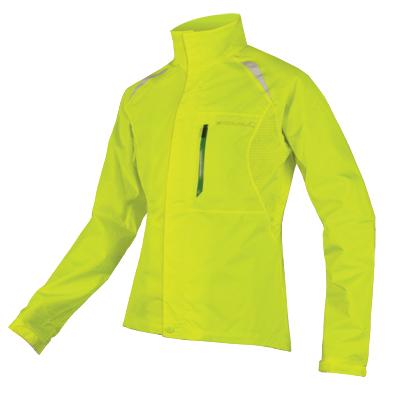 Hardshell Endura Gridlock II dámská bunda Svítivě žlutá XL