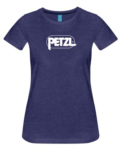 Koszulka PETZL EVE fioletowa z logo Petzl w rozmiarze S