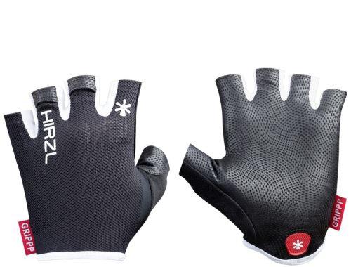 rękawice Hirzl Grippp light SF z krótkimi rękawami - czarne