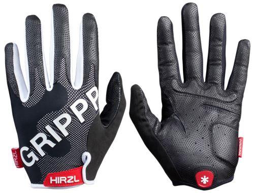 Rękawice z pełnym rękawickiem Hirzl Grippp Tour FF 2.0 - białe