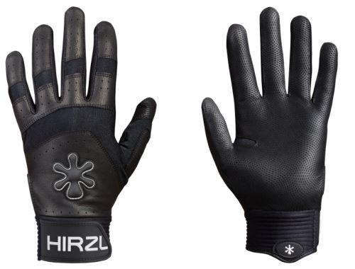Rękawice pełnowymiarowe Hirzl Grippp force - czarne